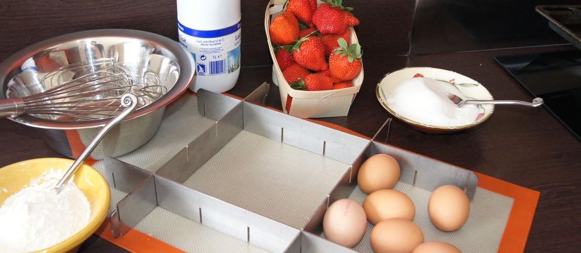 Cadre transformeur - moule à pâtisserie modulable pour professionnels