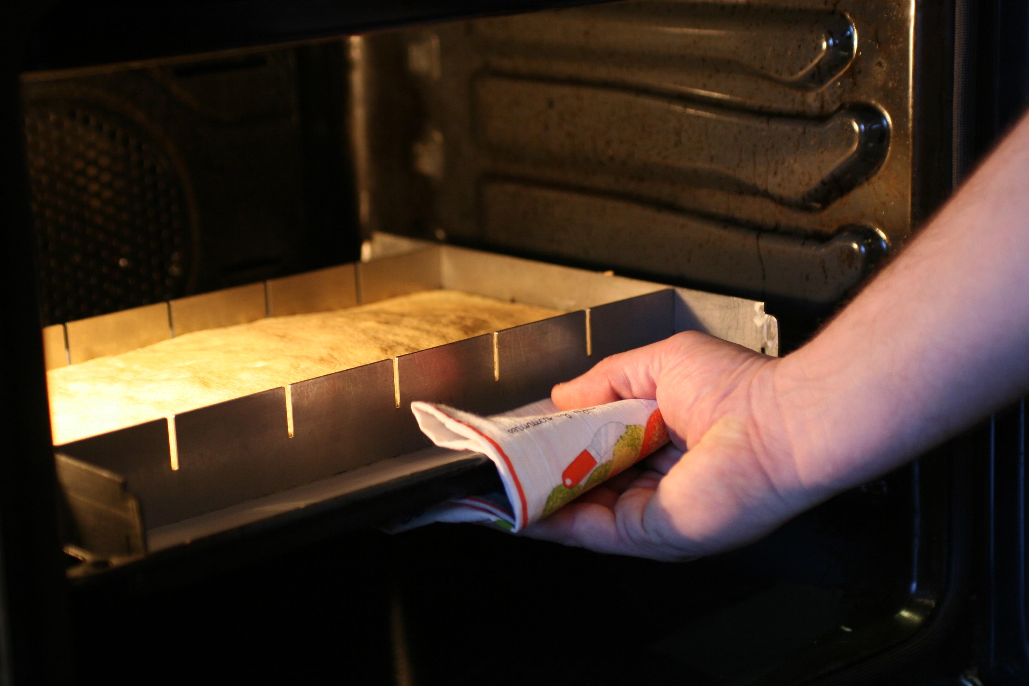Génoise ou biscuit réalisé avec le Cadre transformeur